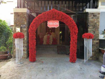 Trang Trí Cổng Hoa Và Nhà Bạt 16