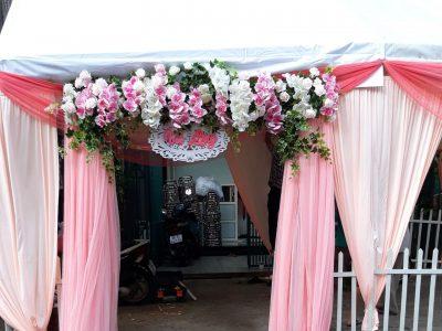 Trang Trí Cổng Hoa Và Nhà Bạt 2