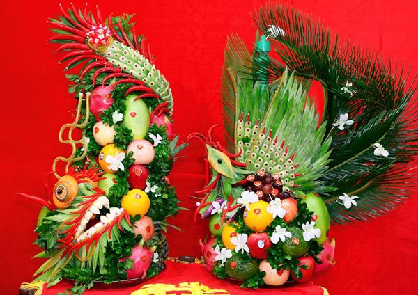Làm sao để cắm hoa và chọn trái cây thích hợp cho ngày đại hỷ 3