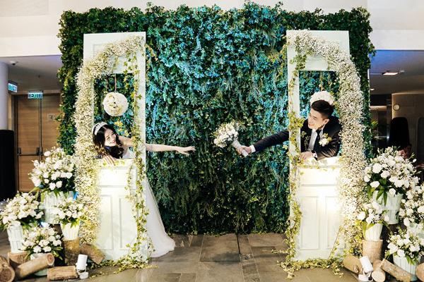 Phông đám cưới đang được ưa chuộng trong năm 2018 2