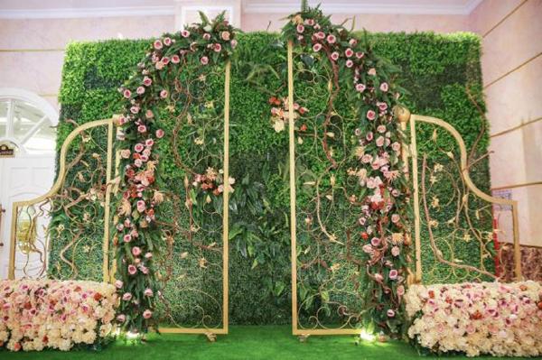 Phông đám cưới đang được ưa chuộng trong năm 2018