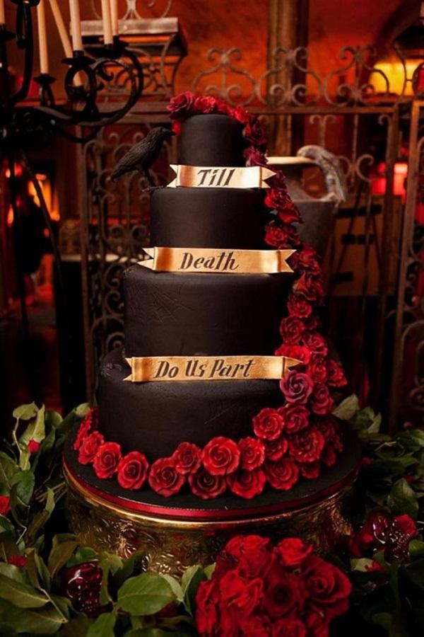 Tiệc cưới Halloween sáng tạo, tại sao không? 2