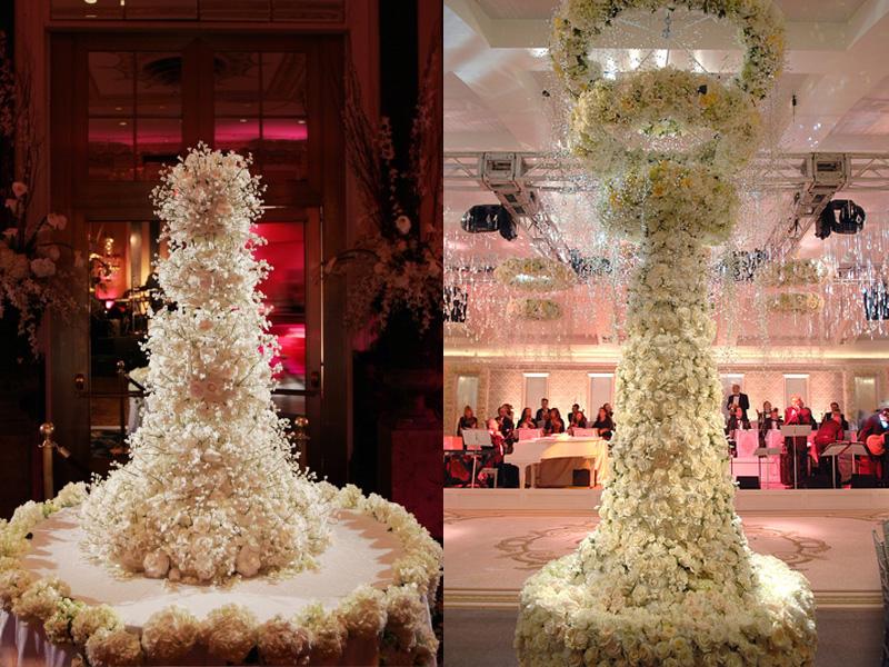 Tìm bánh cưới hoa tươi nhiều tầng đẹp mắt ở đâu 2