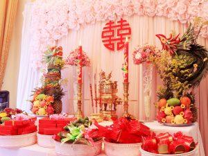 Cách trang trí bàn thờ gia tiên trong ngày cưới theo tục lệ miền nam