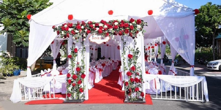 Các bước giúp bạn tự trang trí đám cưới
