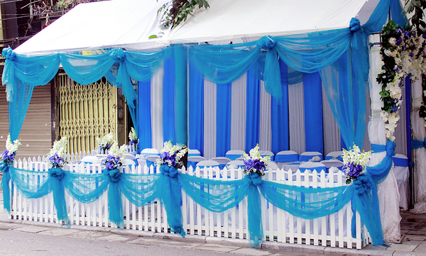 Khâu chuẩn bị trang trí cho ngày cưới cần gì