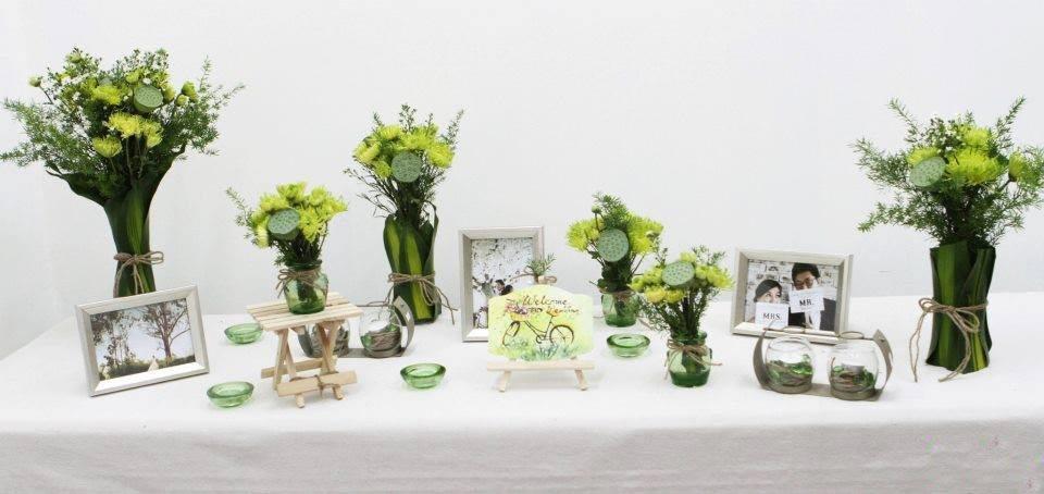 Trang trí nhà cưới bằng hoa sao cho đẹp mắt 3