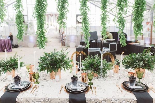 Xu hướng trang trí tiệc cưới mùa thu 2018 4