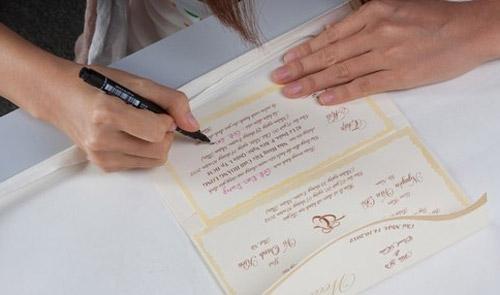 Những lời mời đám cưới hay ý nghĩa 1